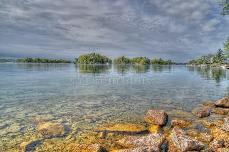 St Lawrence River View imagem de stock royalty free