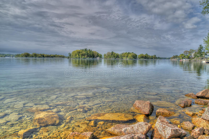 St Lawrence River View royalty free stock image