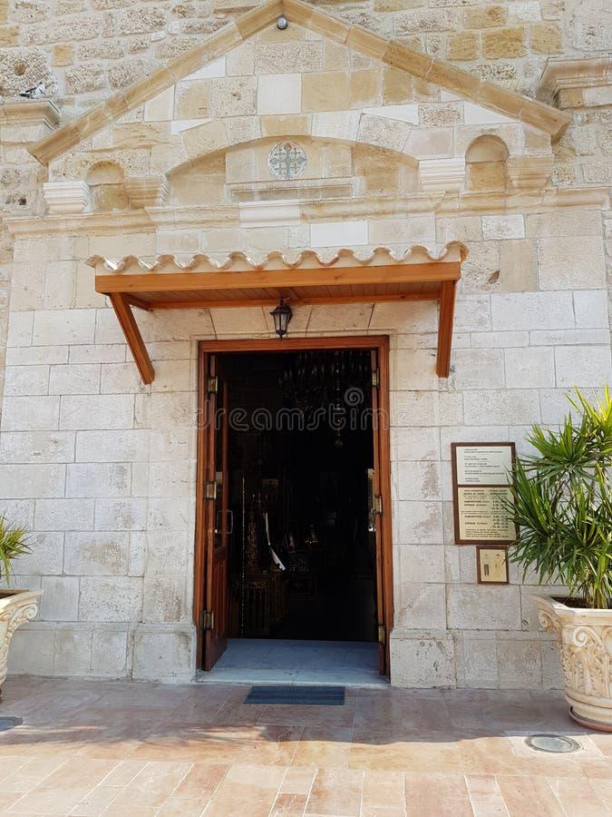 St Lazarus kerk in Larnaca stock foto's