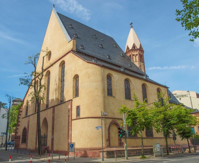 St Leonard Church Frankfurt royalty-vrije stock foto's