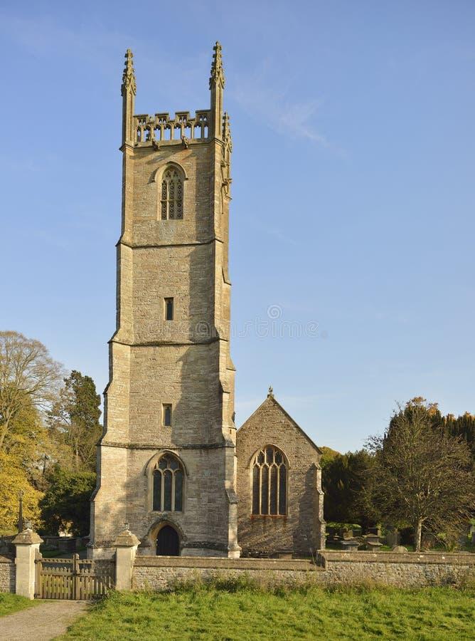 St Leonard Kerk royalty-vrije stock foto