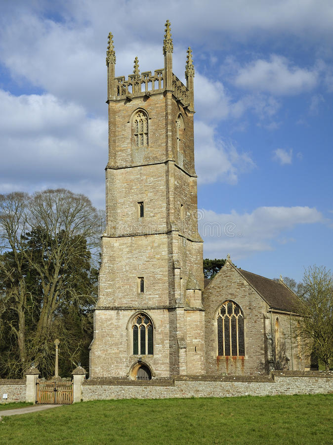 Download St. Leonard's Church stock photo. Image of peace, tortworth - 30375004
