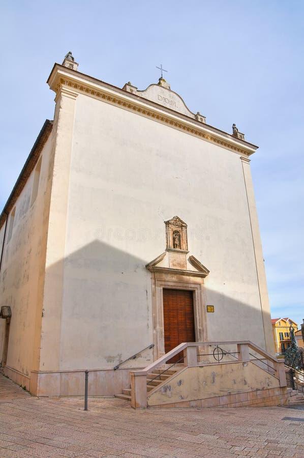 St.-LEONARDO-Kirche. San Giovanni Rotondo. Italien. stockfotos