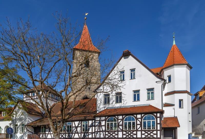 St Leonhard Church, Lauf un der Pegnitz imágenes de archivo libres de regalías