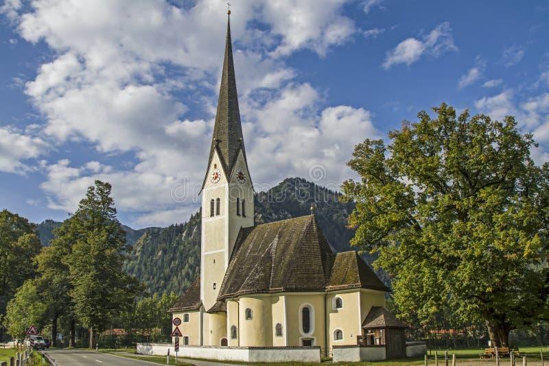St Leonhard en Fischhausen foto de archivo