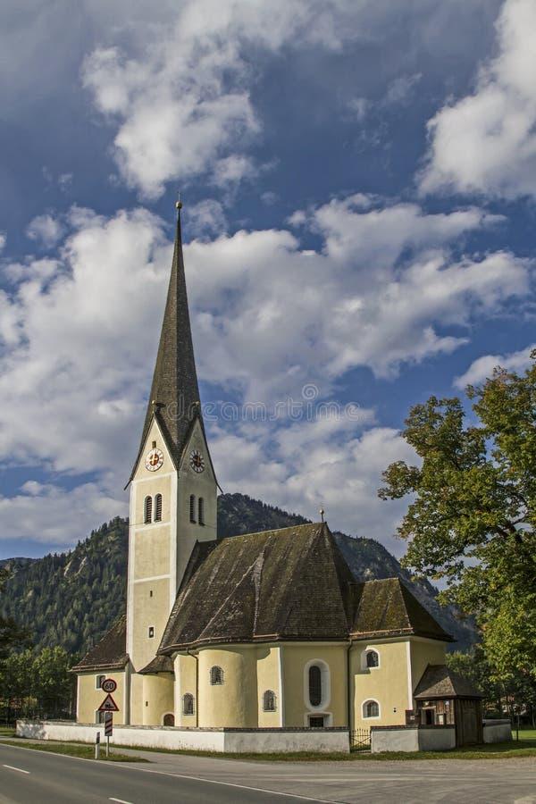 St Leonhard en Fischhausen fotos de archivo libres de regalías