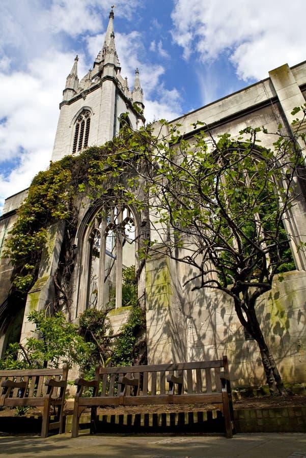 St London церков Dunstan восточный Стоковые Фото
