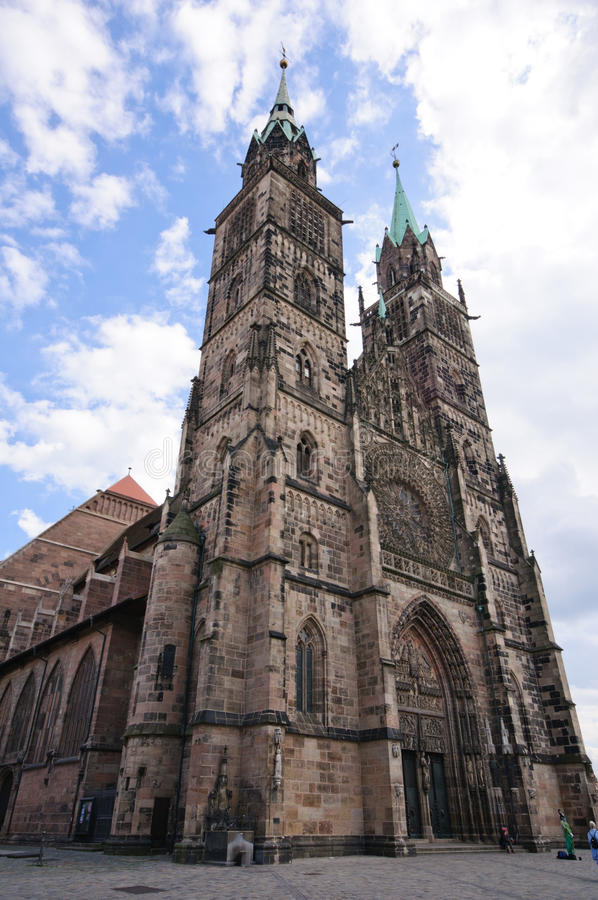 Free St. Lorenz Church - Nürnberg/Nuremberg, Germany Royalty Free Stock Photography - 16354207