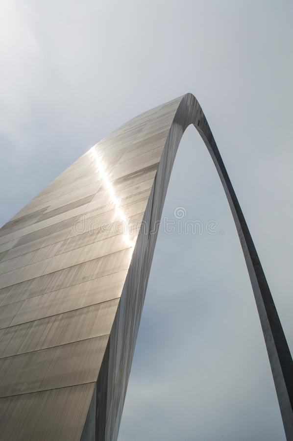 The St. Louis Arch royalty free stock image