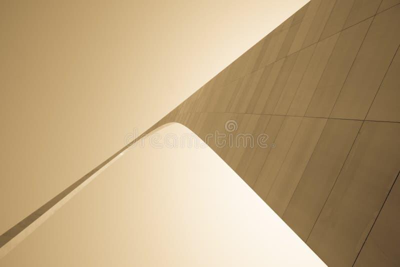 St. Louis, arquitectura, y arco famoso, Missouri, los E.E.U.U. imágenes de archivo libres de regalías