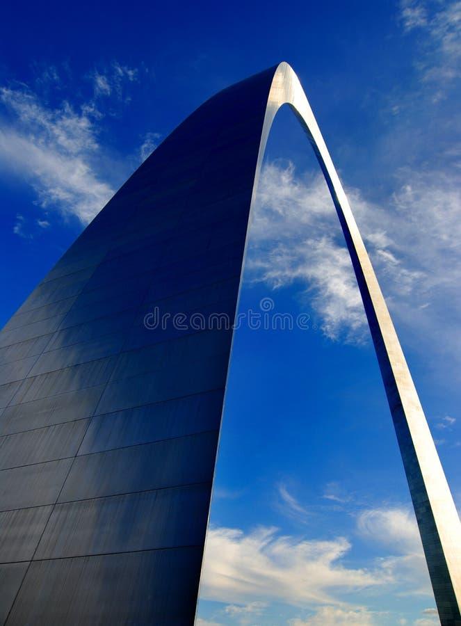 St Louis båge royaltyfri fotografi