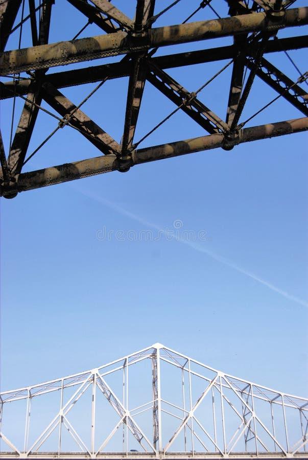 St. Louis Bridges Royalty Free Stock Photography