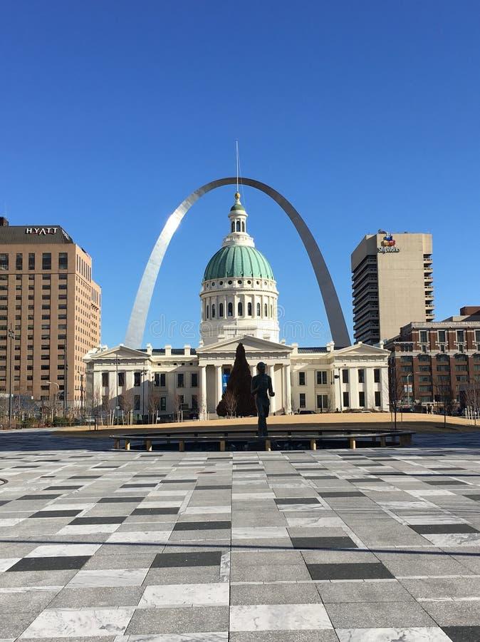 St Louis céntrica imagen de archivo