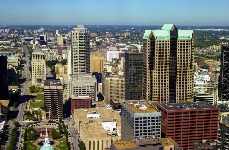 St. Louis céntrico, MES imagen de archivo libre de regalías
