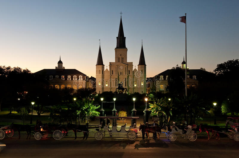 Download St. Louis Cathedral stock image. Image of orleans, louis - 17421593
