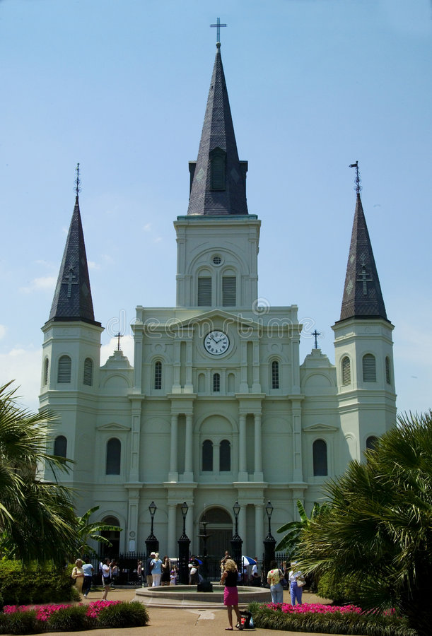 Download St Louis Cathedral stock photo. Image of church, cathedral - 453922