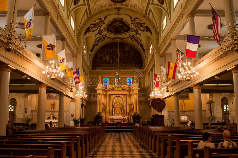 St. Louis Cathedral royalty free stock images