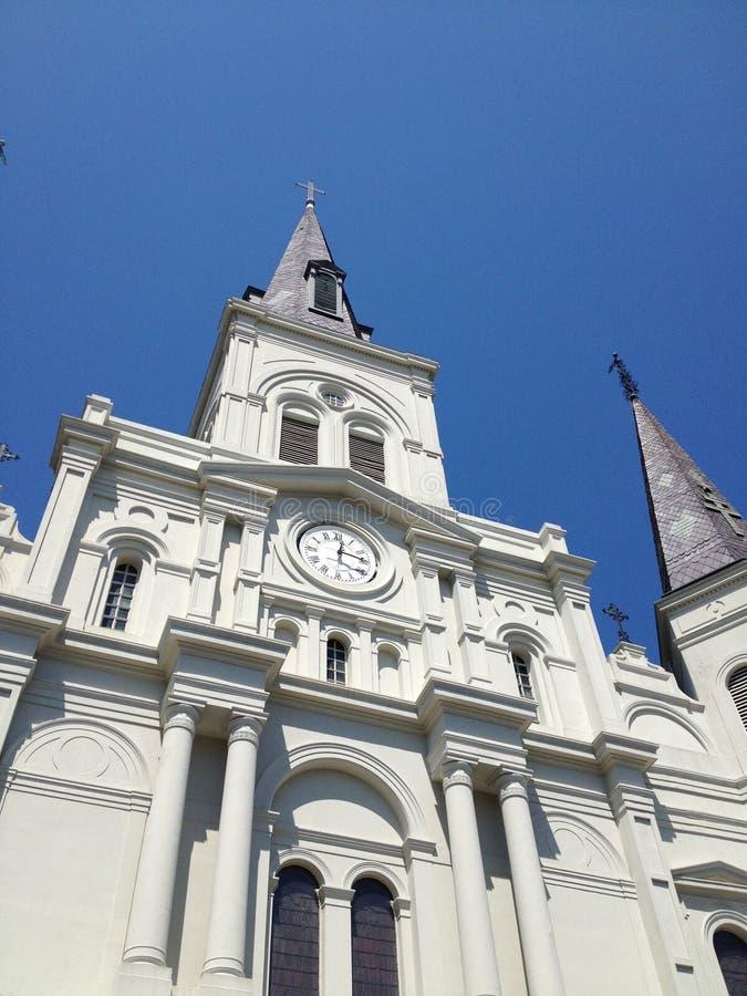 St. Louis Cathedral, Jackson Square, New Orleans stockbilder