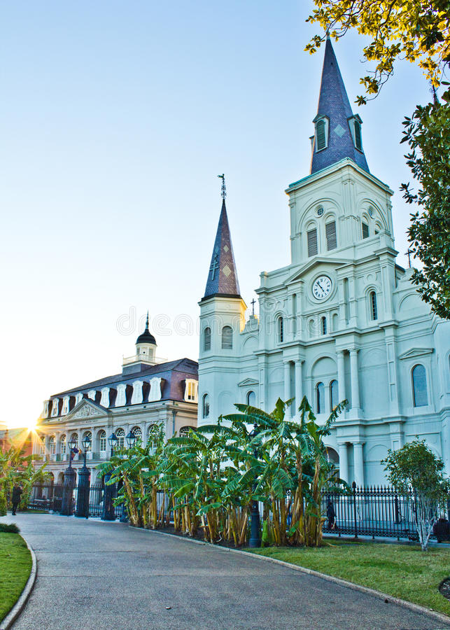 St Louis Cathedral royalty free stock photo