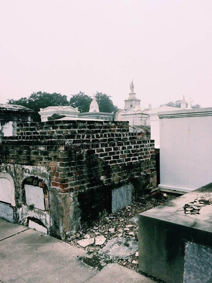 St Louis Cemetary arkivfoto