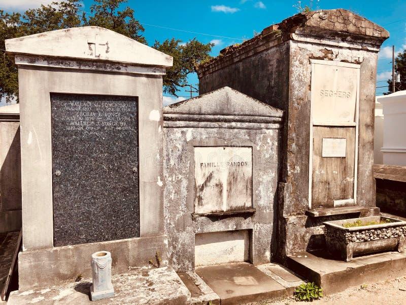 St Louis Cemetery fotos de archivo