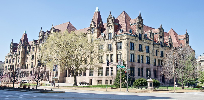 St Louis City Hall, St. Louis, Missouri fotografia stock