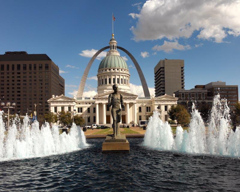 St.Louis - de Verenigde Staten van Amerika stock afbeelding