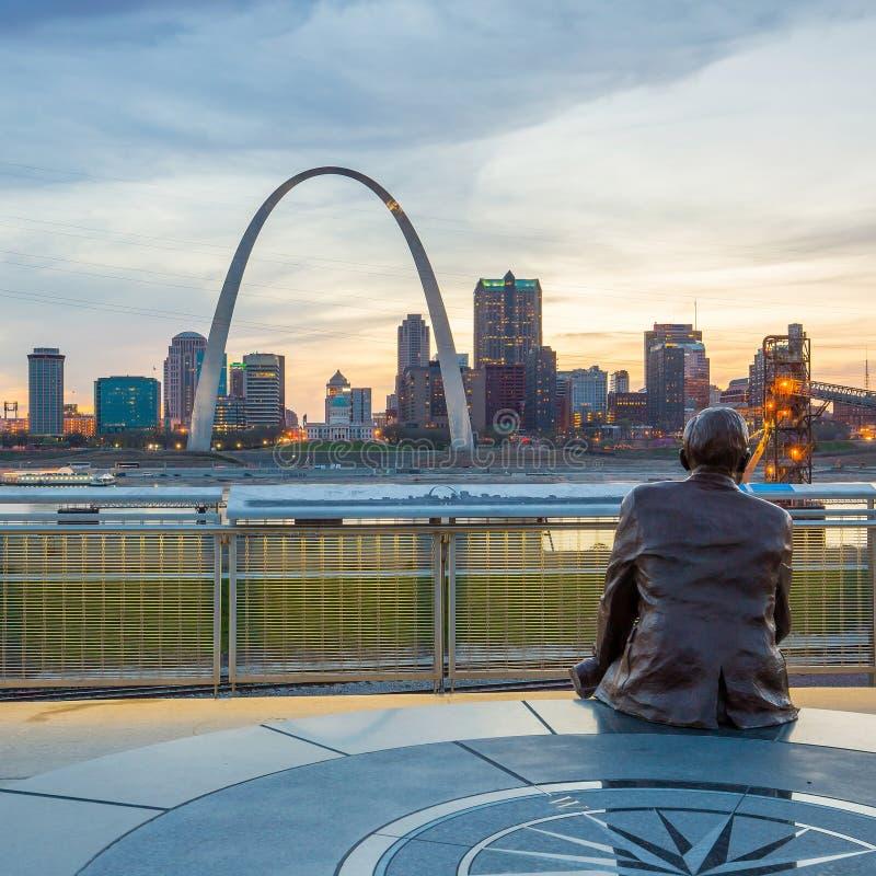 St Louis du centre photographie stock