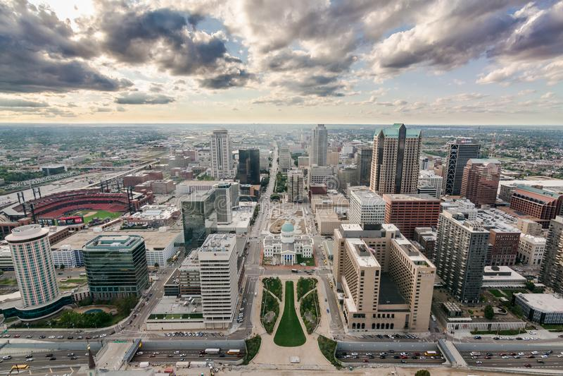 St Louis du centre de la voûte image stock