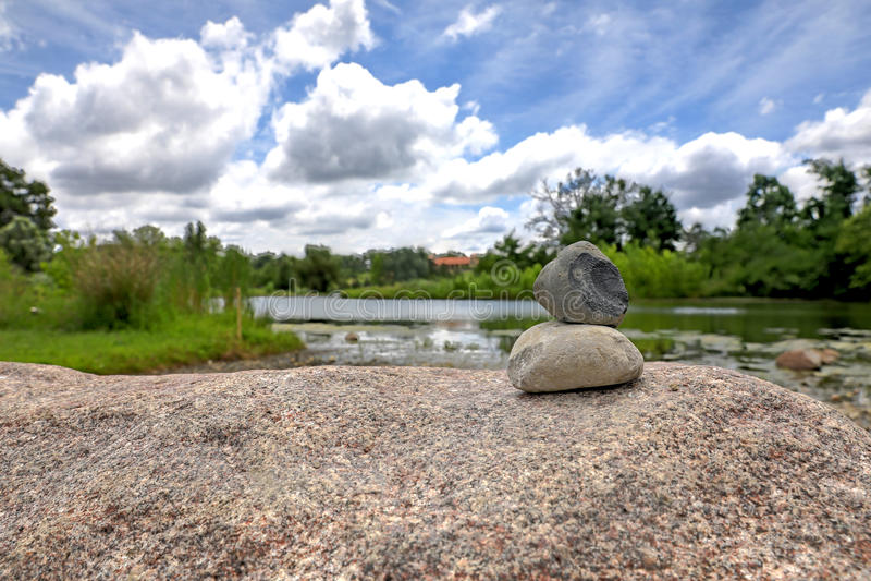 St Louis Forest Park foto de archivo libre de regalías