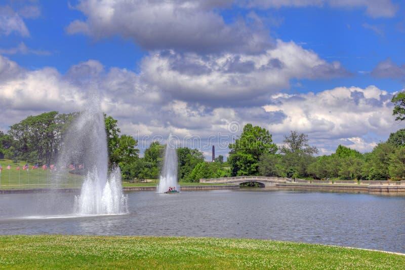 St Louis Forest Park fotos de archivo