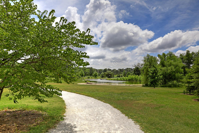 St Louis Forest Park fotografía de archivo libre de regalías