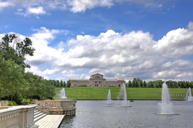 St Louis Forest Park fotos de archivo libres de regalías