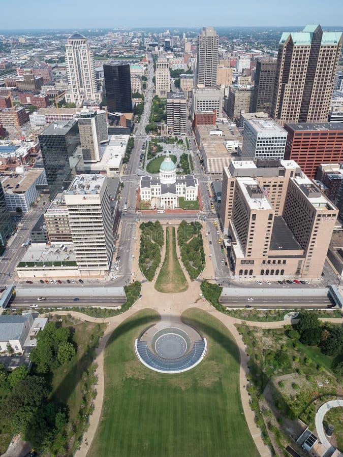 St Louis i innerstaden fotografering för bildbyråer