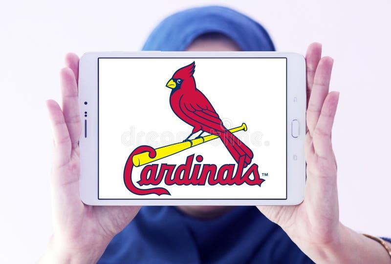 St Louis kardynałów drużyny basebolowa logo fotografia royalty free