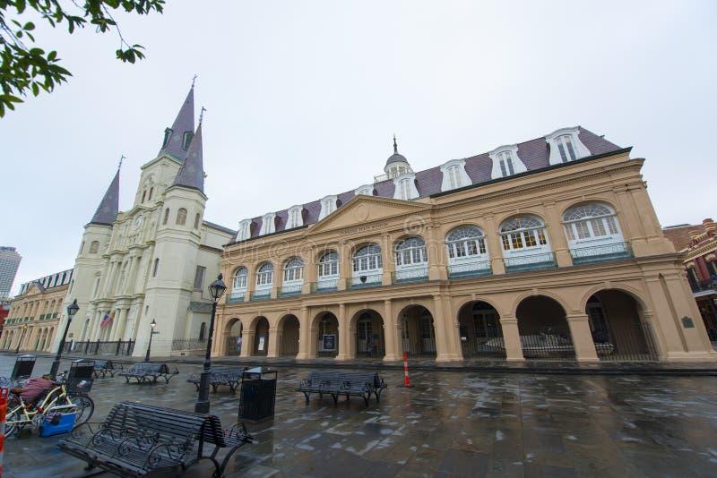 St Louis katedra, Nowy Orlean, Luizjana, usa zdjęcia royalty free