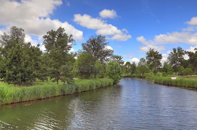 St Louis lasu park obraz stock
