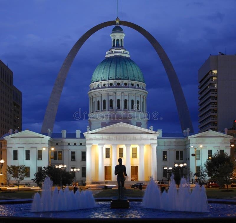 St Louis - le Missouri - les Etats-Unis d'Amérique images stock
