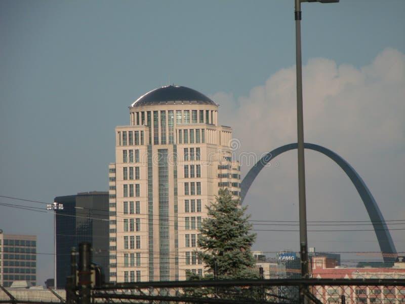 St Louis Missouri Arch arkivbilder