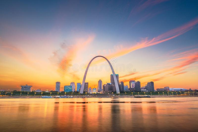 St. Louis, Missouri, los E.E.U.U. imagen de archivo