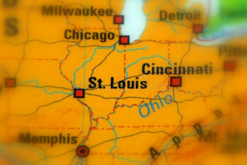 St.Louis, Missouri - U S royalty-vrije stock foto's