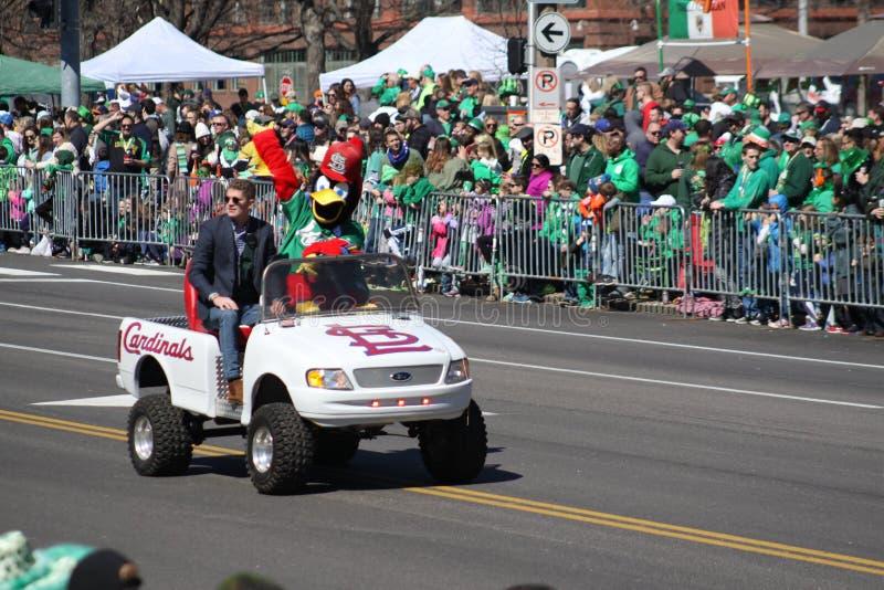St Louis St Patrick dnia parada 2019 VIII zdjęcie stock