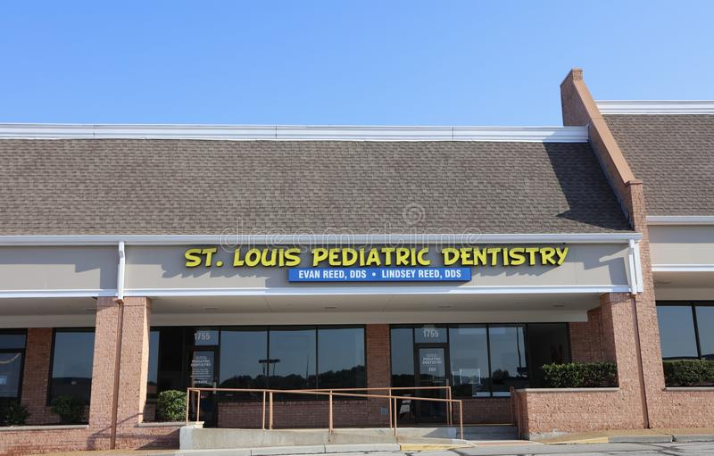 St Louis Pediatric Dentistry imagem de stock