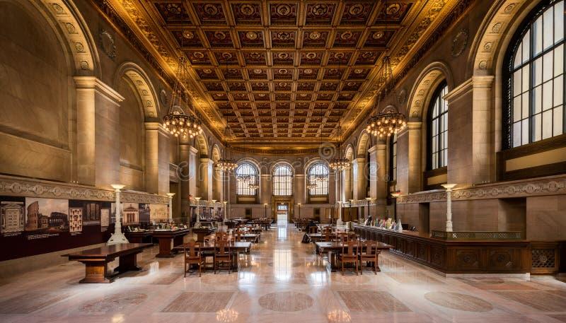 St Louis Public Library royaltyfria bilder