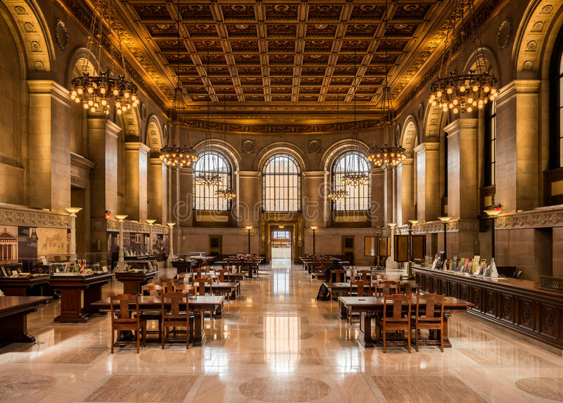 St Louis Public Library arkivfoton