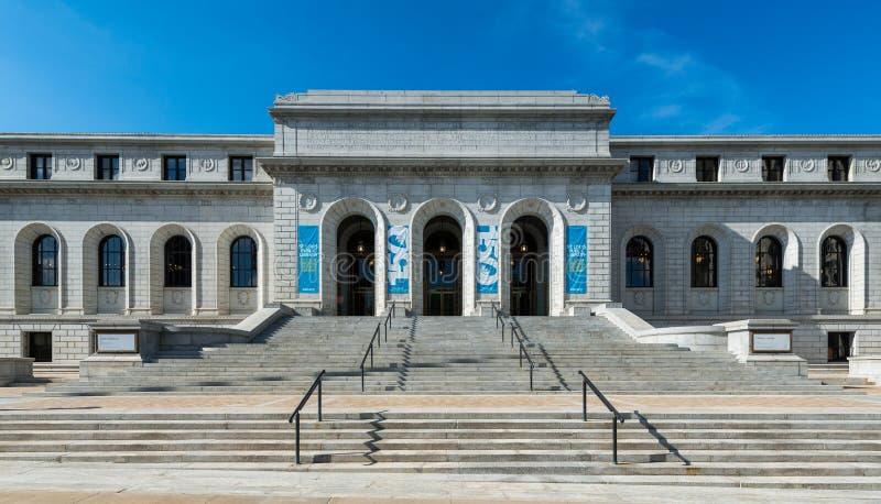 St Louis Public Library royaltyfri fotografi