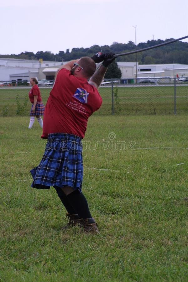 St Louis Scottish Games 2018 stock foto
