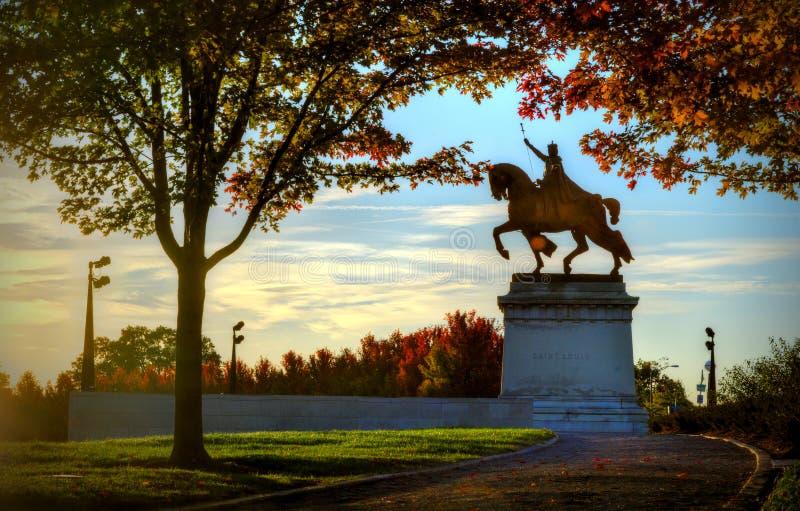 St Louis Statue imágenes de archivo libres de regalías