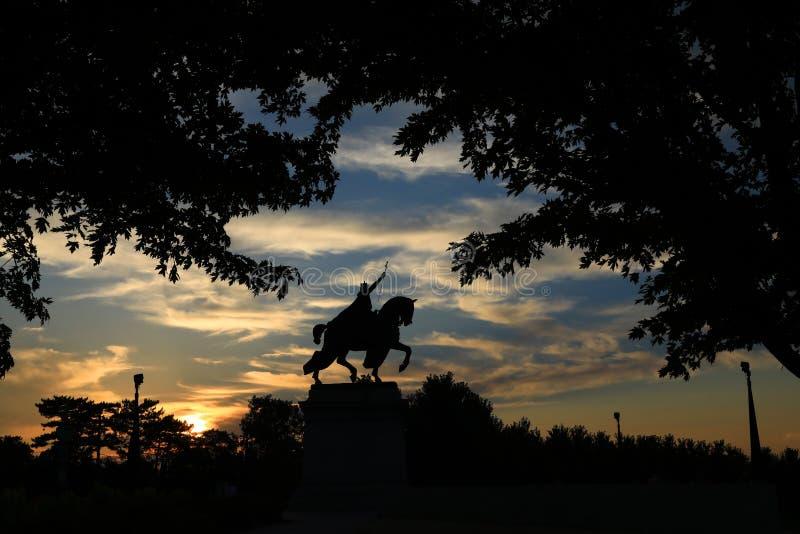 St Louis Statue fotos de archivo