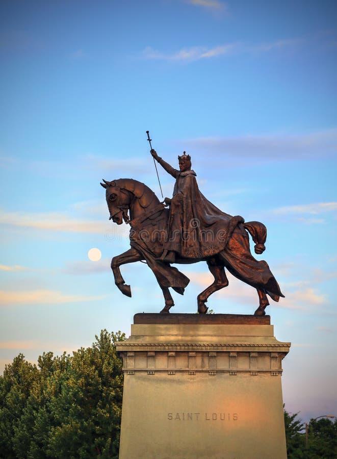 St Louis Statue imagen de archivo libre de regalías